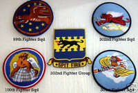 99 100 301 302ND SQUADRON 332 FIGHTER GROUP TUSKEGEE AIRMEN HAT XL PATCH SET WOW