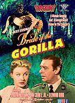 Bride of the Gorilla (DVD, 1951 Release, B & W) Ships FREE! stars Lon Chaney Jr.