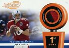 PEYTON MANNING ( 3 COLOR ) POTG 2000 PRO BOWL JERSEY PLAYOFF PATCH CARD #116/250