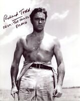 The Naked Earth movie photo signed Richard Todd