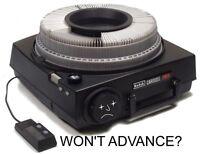 """Kodak Carousel Projector """"ADVANCE"""" Repair Kit- manual focus"""