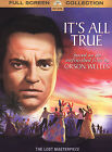 Its All True (DVD, 2004, Full Screen Collection)