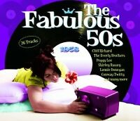 CD FABULOUS 50s 1958 CLIFF RICHARD EVERLY DONEGAN COMO