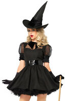 LEG AVENUE Bewitching Witch Womens Halloween Sexy Fancy Dress Costume 85238