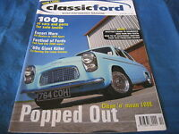 CLASSIC FORD MAGAZINE OCT 2000 TOURING CAR LOTUS CORTINA MEXICO Vs SPORT ESCORT