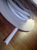 CARAVAN AWNING INSERT INFILL IN WHITE 2 METRES x 12mm HERZIM STRIP