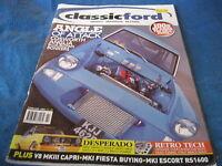 CLASSIC FORD MAGAZINE FEB 2005 CAPRI MEXICO FIESTA STW201R CHEVY V8 COSWORTH XR2
