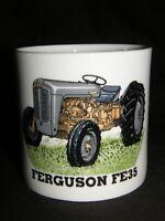 Grey Ferguson FE35 Large Bone China Mug, Vintage Tractor gift, One Pint Mug
