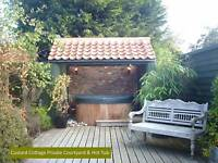 5th December - 4 night Midweek break  - Romantic Holiday Cottage OWN HOT TUB