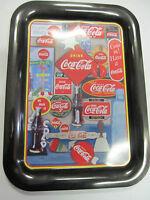 Coca Cola Rectangle TV Tray - New - Replica