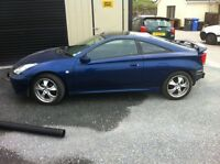 Parts TOYOTA CELICA VVTLI  radios shocks springs spoilers buttons injectors