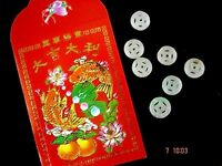 20 CHINESE S LUCKY JADE COIN RED ENVELOPE WEDDING BIRTHDAY NEW YEAR BABY PARTY
