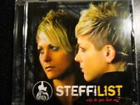 "CD - ""WHY DO YOU LOVE ME?"" - STEFFI LIST+neu+"