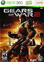 Gears of War 2 (Microsoft Xbox 360, 2008) DISC ONLY
