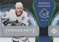 2007-08 TRILOGY - MARKUS NASLUND HONORARY SWATCHES #HS-MN