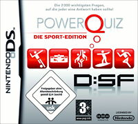 "NINTENDO DS - GAME ""POWERQUIZ -DIE SPORTEDITION DSF++neu+ovp++"