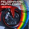 Felgenrandaufkleber Design GP Design Motorrad Aufkleber