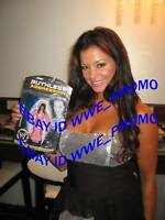 WWE RUTHLESS CANDICE MICHELLE SIGNED FIGURE WITH PROOF