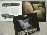 1973 PONTIAC BONNEVILLE Dealer Sales Brochure/Catalog