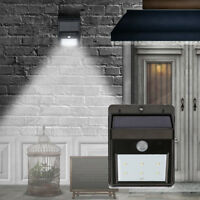 Solar Powered LED PIR Motion Sensor Security Outdoor Garden Wall Lamn Light Lamp