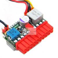picoPSU-120-WI-25 wide input 120W Power Supply 12-25V 20 pin SATA