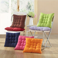 Soft Dining Garden Chair Seat Pads Filled Ties Cushion Office Home Sofa Bedroom