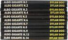 DYLAN DOG-SERIE ALBO GIGANTE N° 1-2-3-4-5-6-7-8-9-12-14-USATO OTTIMO-BONELLI