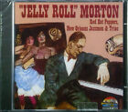 "CD ""JELLY ROLL"" MORTON - rouge hot peppers, la nouvelle-orléans jazzmen & trio"