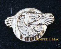 RUPTURED DUCK HONORABLE DISCHARGE HAT LAPEL PIN UP US ARMY AIR CORPS VETERAN WOW