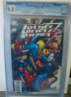 JUSTICE SOCIETY OF AMERICA  #10 cgc 9.8 Variant Cover