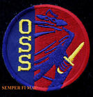 OSS PATCH Office of Strategic Services Intelligence CIA HAT PATCH US VETERAN SPY