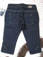 MANGO MNG CAPRI JEANS Gr. 32/34 NEU blau Damen Hose Damenhose Shorts OVP L@@K