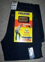 WRANGLER jeans EVOLUTION  Denim Rinsewash cowboy cut equitazione Tg.W24/L34