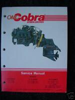 "1988 OMC COBRA STERN DRIVE ENGINE INTERMEDIATE SERVICE MANUAL NEW ""RARE"" 507708"