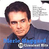 Merle Haggard : 20 Greatest Hits CD (2002) ***NEW***