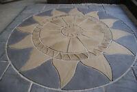 Aztec Sun Circle and Square Kit Patio Paving Kit