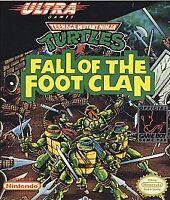 Teenage Mutant Ninja Turtles: Fall of the Foot Clan (Nintendo Game Boy, 1990)