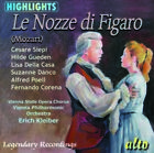 CD MOZART LE NOZZE DI FIGARO MARRIAGE OF FIGARO OPERA HIGHLIGHTS KLEIBER
