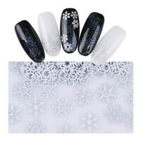 1.5g Christmas Nail Sequins Snowflake 3D Metal Flakes Charms Nail Art Decoration