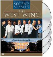 The West Wing - The Complete Second Season (DVD, 2004, 4-Disc Set, Digi-Pack)