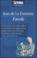 Favole, jean de la fontaine, BUR RIZZOLI ( codice libro 9788817126656 )