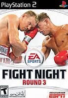 Fight Night: Round 3 (Sony PlayStation 2, 2006) GOOD