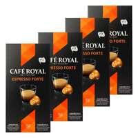 Café Royal Espresso Forte Kaffee Kaffeekapseln Nespresso Kompatibel 40 Kapseln