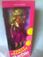 VINTAGE 1992 PARTY PREMIERE BARBIE DOLL NEW NRFB