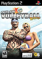 Outlaw Volleyball Remixed (Sony PlayStation 2, 2005) VERY GOOD