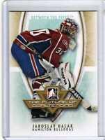 JAROSLAV HALAK 07/08 ITG BTP FUTURE OF GOALTENDING INSERT Hockey Card Rookie