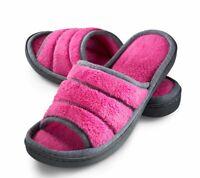 Roxoni Women's Comfort Open Memory Foam Slide Slipper