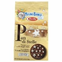 MULINO BIANCO, COOKIE CHOC PAN DI STELLE, 5.3 OZ, (Pack of 10)