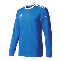 Adidas Squadra 17 de Manga Larga Camiseta Azul Blanco