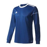Adidas Squadra 17 de Manga Larga Camiseta Niños Azul Oscuro